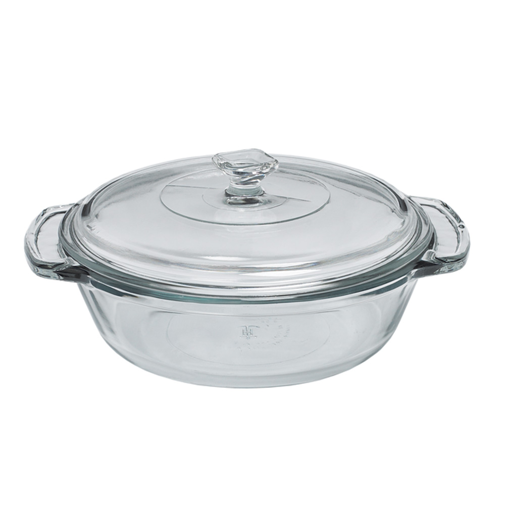 5 litre casserole dish with lid-8724