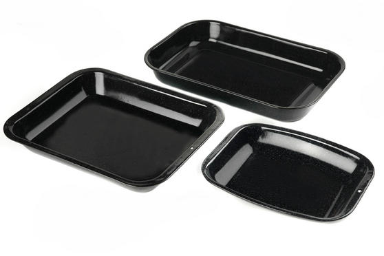 Russell Hobbs  3-Piece Vitreous Enamel Roaster and Chop Tray Set CW20701