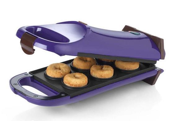 Giles & Posner Purple 180° Flip Over Doughnut Maker