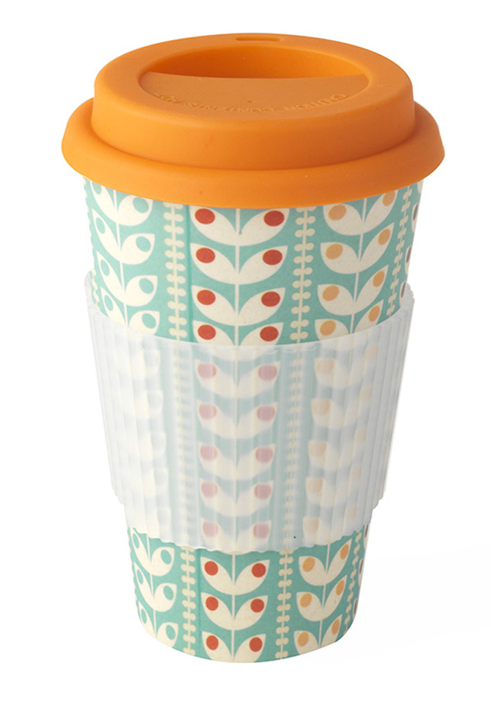 Mug Travel Cambridge Retro Bamboo Daisy Eco 8nw0POkX