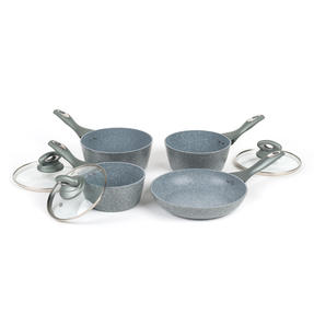 Salter BW04151G1AR Marble Collection Forged Aluminium Non Stick Pan Set, 4 Piece Thumbnail 6