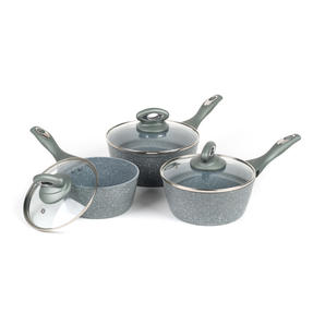 Salter BW04151G1AR Marble Collection Forged Aluminium Non Stick Pan Set, 4 Piece Thumbnail 7