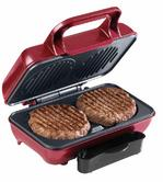 American Originals EK2005AR Twin Burger Maker, 800 W Thumbnail 3