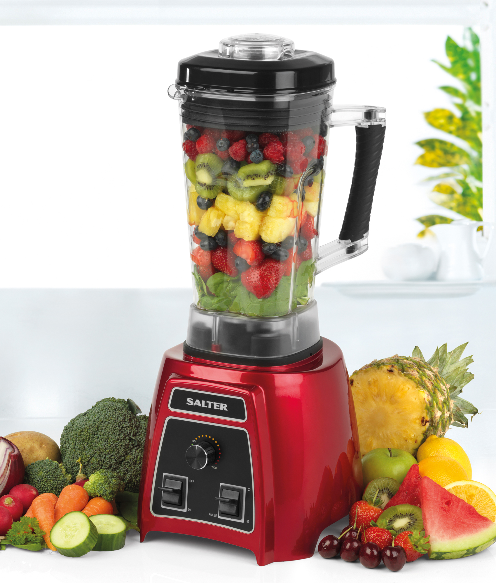 salter ek2154 blenderpro smoothie maker blender 1500 w red small kitchen appliances. Black Bedroom Furniture Sets. Home Design Ideas