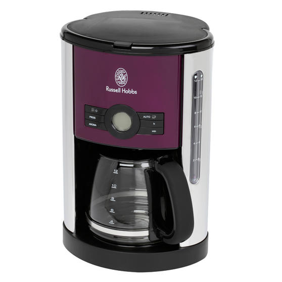 Russell Hobbs Purple Coffee Maker Small Kitchen