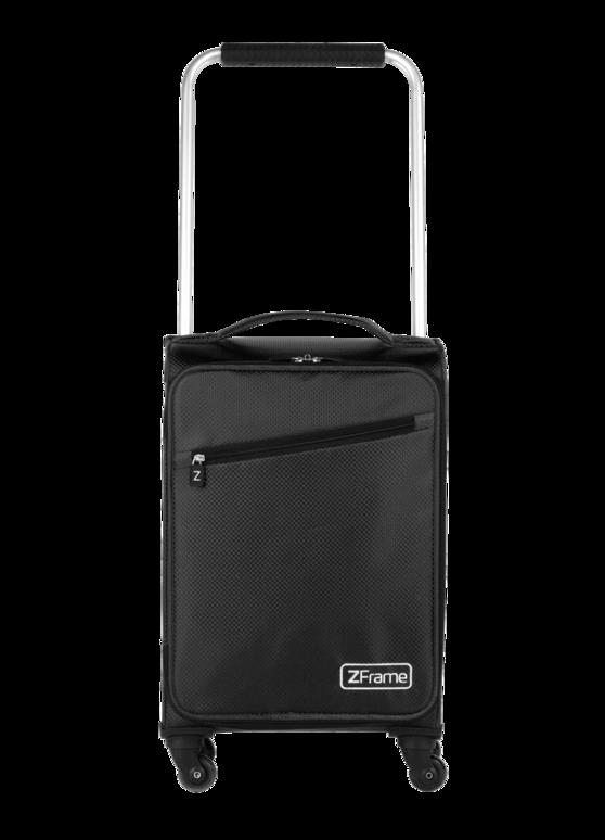 """ZFrame Super Lightweight Suitcase, 18"""", Black"""