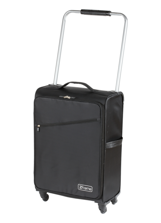 "ZFrame Super Lightweight Suitcase, 18"", Black Thumbnail 2"
