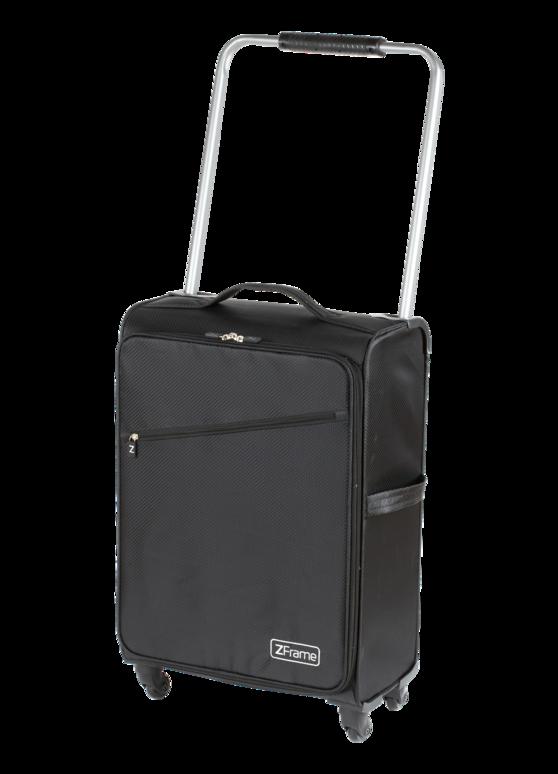 "ZFrame Super Lightweight Suitcase, 18"", Black Thumbnail 2"