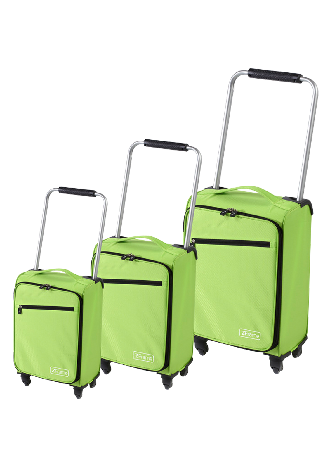 ZFrame Green Super Lightweight Suitcase Set 18\