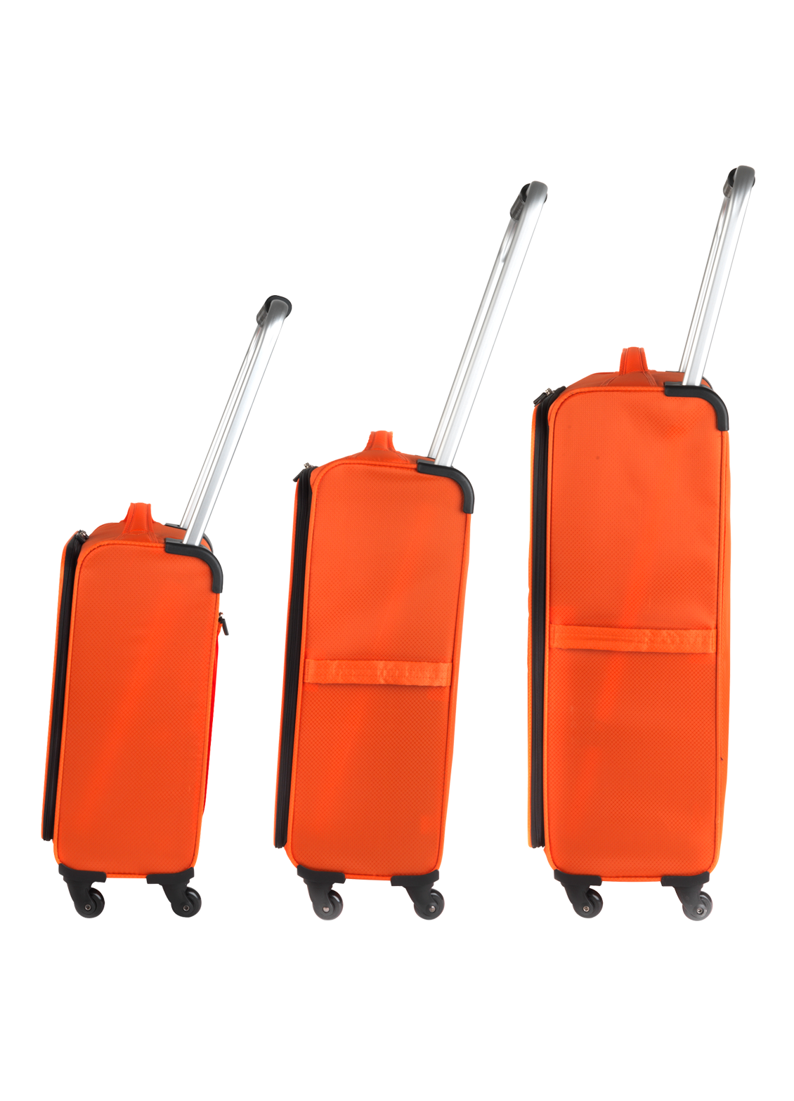 ZFrame 3 Piece Orange Luggage Suitcase Luggage Case Set , 18\