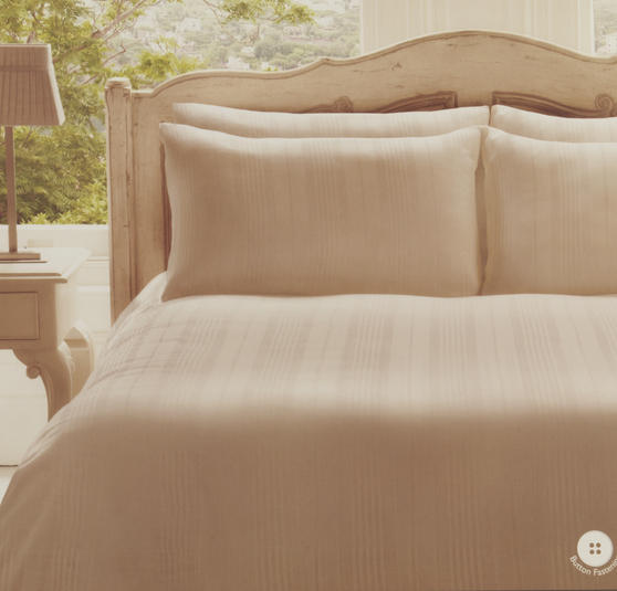 Frette Roma Ivory Single Cotton Duvet Cover 140cm x 200cm 1706101