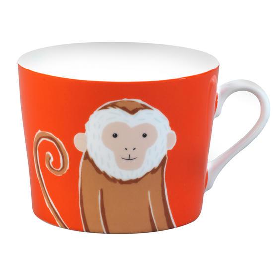 Cambridge Newport Monkey Fine China Mug Set Of 4 CM04675