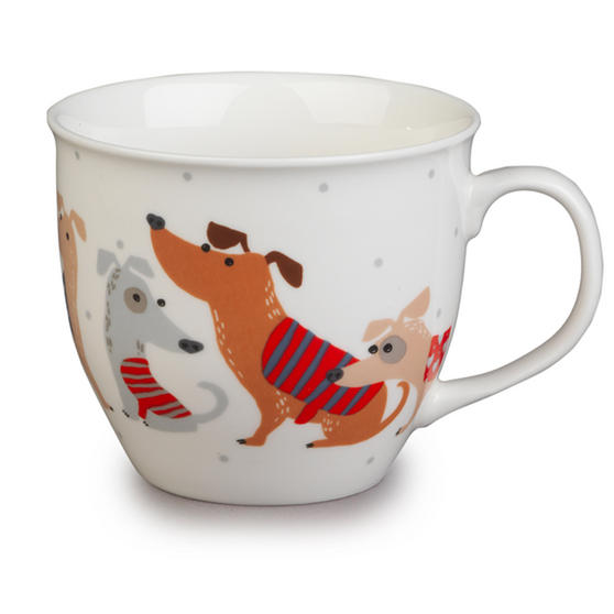 Cambridge Oxford Dog Jumpers Fine China Mug CM04705