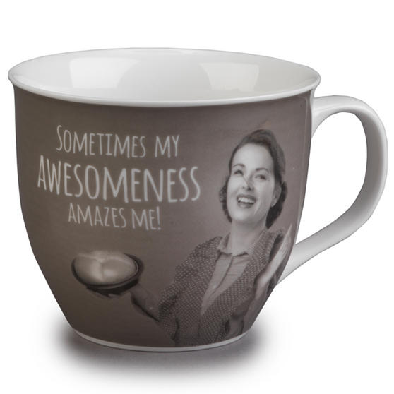 Cambridge Oxford Awesomeness Fine China Mug CM04770