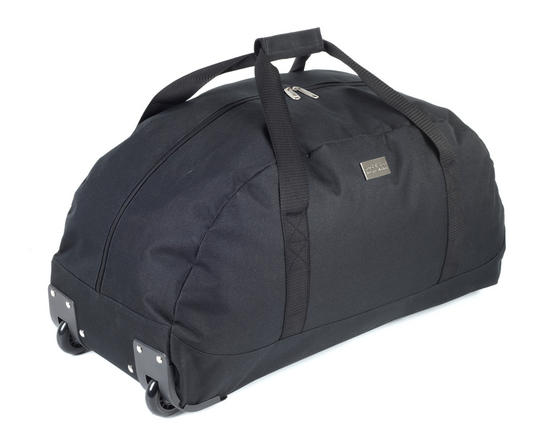 Constellation LG00413BLKSAMIL Rome Roller Holdall Suitcase, 81 Litres, Black