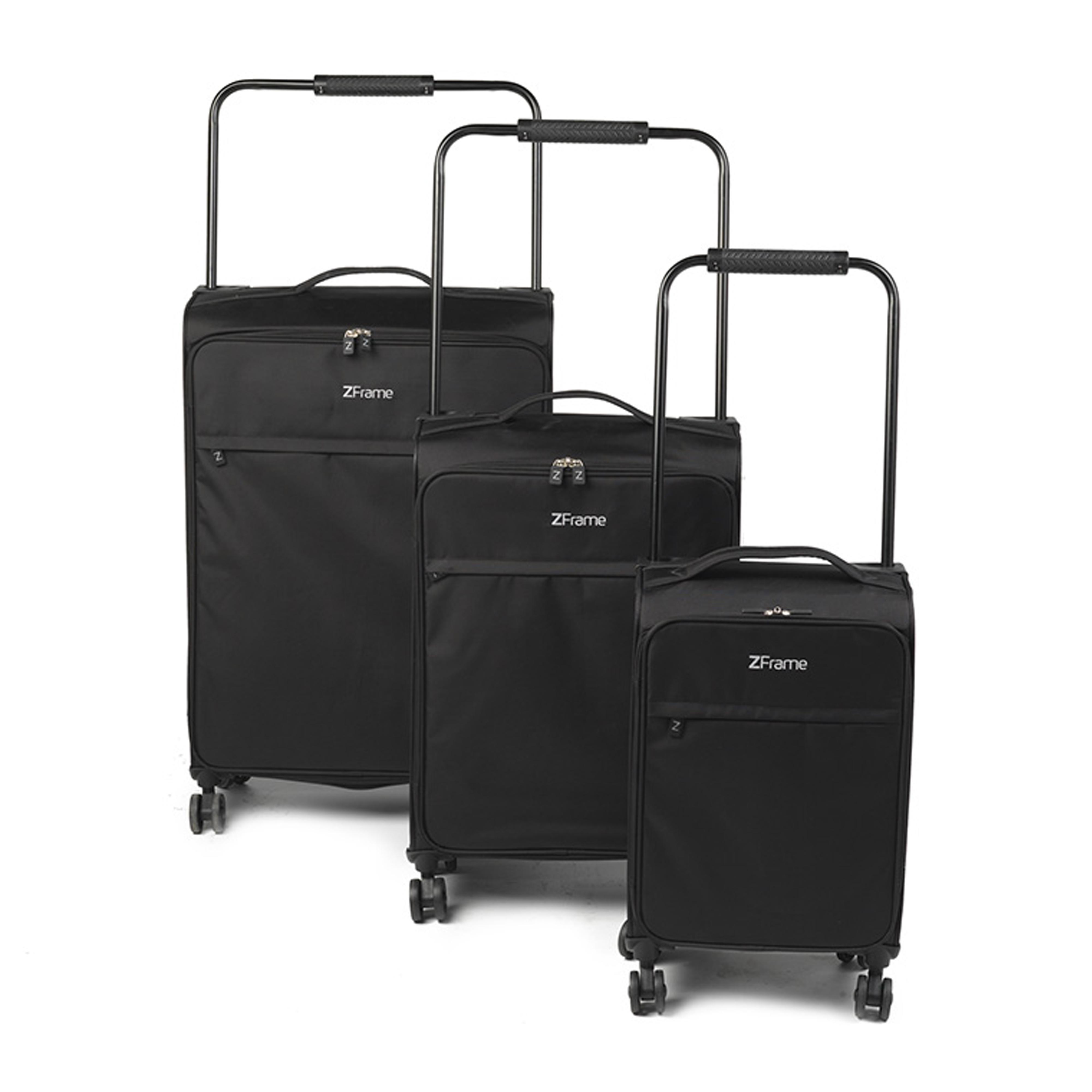 6ed0cf899 ZFrame 4 Double Wheel Super Lightweight Suitcase 3 Piece Set, 18