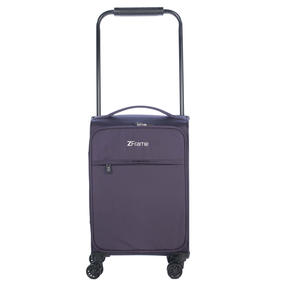 "ZFrame 4 Double Wheel Super Lightweight Suitcase 3 Piece Set, 18"", 22"", 26"", Purple, 10 Year Warranty Thumbnail 3"