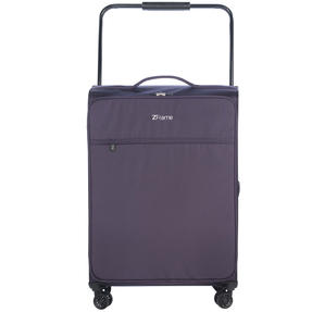 "ZFrame 4 Double Wheel Super Lightweight Suitcase 3 Piece Set, 18"", 22"", 26"", Purple, 10 Year Warranty Thumbnail 5"