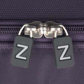 """ZFrame 4 Double Wheel Super Lightweight Suitcase 3 Piece Set, 18"""", 22"""", 26"""", Purple, 10 Year Warranty Thumbnail 9"""