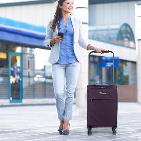"""ZFrame 4 Double Wheel Super Lightweight Suitcase 3 Piece Set, 18"""", 22"""", 26"""", Purple, 10 Year Warranty Thumbnail 6"""