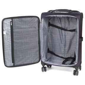 """ZFrame 4 Double Wheel Super Lightweight Suitcase 3 Piece Set, 18"""", 22"""", 26"""", Purple, 10 Year Warranty Thumbnail 7"""