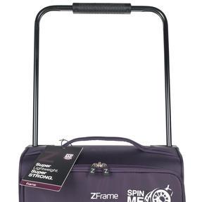 """ZFrame 4 Double Wheel Super Lightweight Suitcase 3 Piece Set, 18"""", 22"""", 26"""", Purple, 10 Year Warranty Thumbnail 8"""