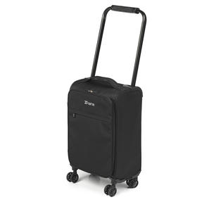 "ZFrame 18"" Small 4 Double Wheel Super Lightweight Cabin Suitcase, 1.98 kg, 30 Litre, Black, 10 Year Warranty Thumbnail 2"