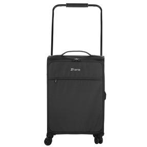 "ZFrame 22"" Medium 4 Double Wheel Super Lightweight Suitcase, 2.48 kg, 51 Litre, Black, 10 Year Warranty"