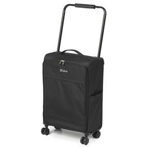 "ZFrame 22"" Medium 4 Double Wheel Super Lightweight Suitcase, 2.48 kg, 51 Litre, Black, 10 Year Warranty Thumbnail 2"