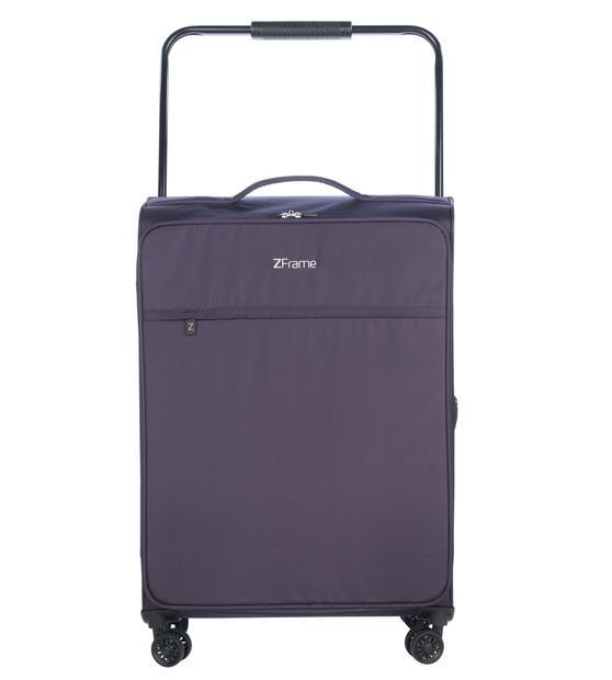 """ZFrame SH22283822DWPURMIL 8 Wheel Super Lightweight Suitcase, 22"""", 10 Year Warranty, Purple"""