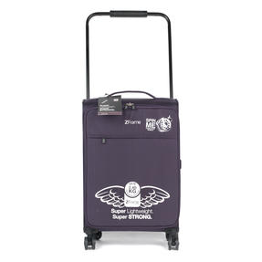 "ZFrame 22"" Medium 4 Double Wheel Super Lightweight Suitcase, 2.48 kg, 51 Litre, Purple, 10 Year Warranty Thumbnail 2"