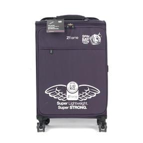 """ZFrame SH22283822DWPURMIL 8 Wheel Super Lightweight Suitcase, 22"""", 10 Year Warranty, Purple Thumbnail 2"""