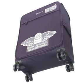 """ZFrame SH22283822DWPURMIL 8 Wheel Super Lightweight Suitcase, 22"""", 10 Year Warranty, Purple Thumbnail 3"""