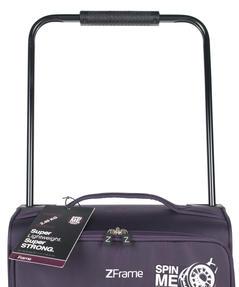 """ZFrame SH22283822DWPURMIL 8 Wheel Super Lightweight Suitcase, 22"""", 10 Year Warranty, Purple Thumbnail 4"""