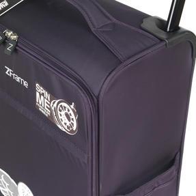 """ZFrame SH22283822DWPURMIL 8 Wheel Super Lightweight Suitcase, 22"""", 10 Year Warranty, Purple Thumbnail 6"""