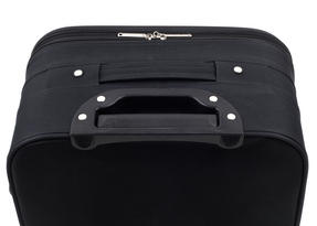 Constellation Eva 3 Piece Suitcase Set, 18/24/28?, Plain Black Thumbnail 3