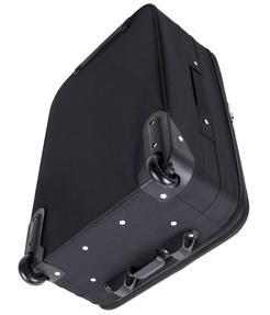 Constellation Eva 3 Piece Suitcase Set, 18/24/28?, Plain Black Thumbnail 4