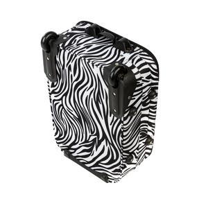 Constellation 3 Piece Zebra Print Eva Luggage Set Thumbnail 4