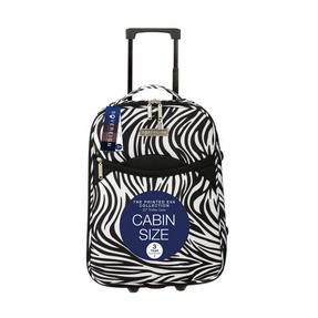Constellation 3 Piece Zebra Print Eva Luggage Set Thumbnail 3