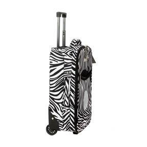 Constellation 3 Piece Zebra Print Eva Luggage Set Thumbnail 5