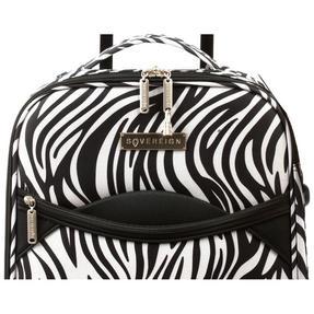 Constellation 3 Piece Zebra Print Eva Luggage Set Thumbnail 6