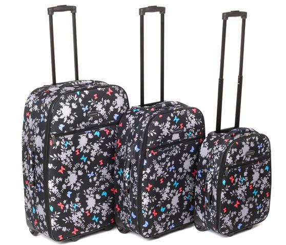 "Constellation Spring Paradise Suitcase Set, 18, 22 & 26"""