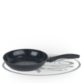Russell Hobbs Stone Collection 24cm Black Frying Pan BW04216 Thumbnail 2