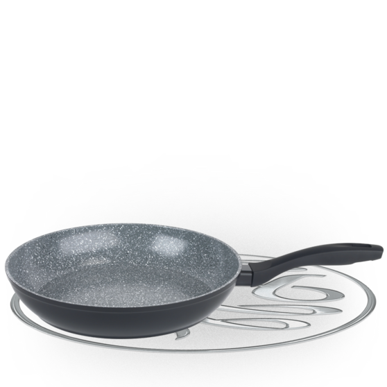 Russell Hobbs Stone Collection 28cm Grey Frying Pan BW04217G Preview
