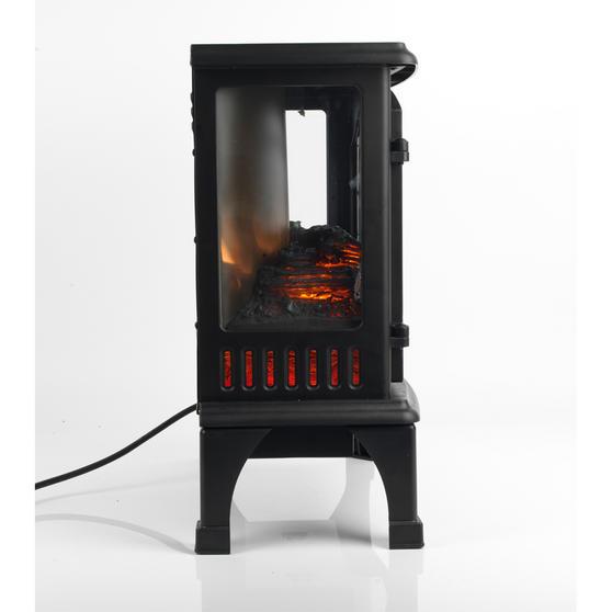 "Beldray Panoramic Electric Stove, 1500 W, 20"", Black Thumbnail 2"