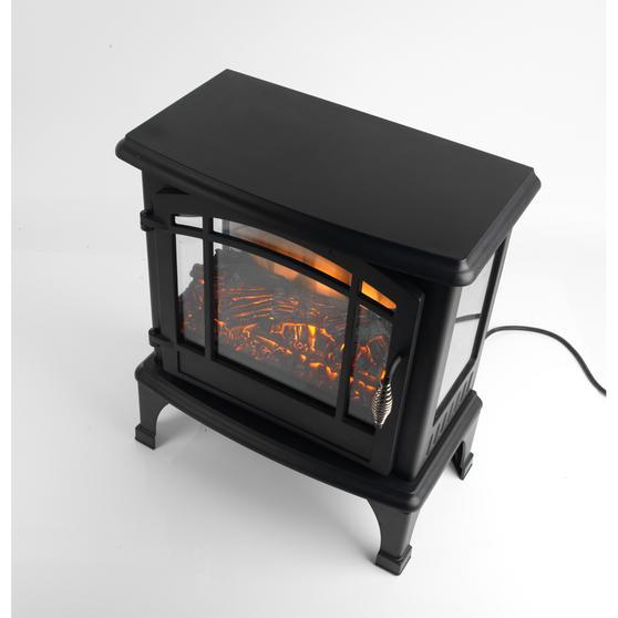 "Beldray Panoramic Electric Stove, 1500 W, 20"", Black Thumbnail 3"