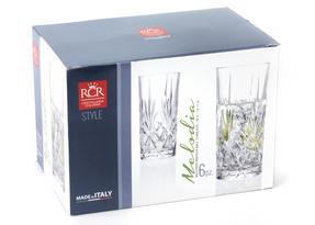 RCR 25766020006 Crystal Melodia High Ball Glasses Tumblers Thumbnail 4
