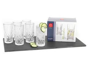 RCR 25766020006 Crystal Melodia High Ball Glasses Tumblers Thumbnail 5