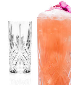 RCR 25766020006 Crystal Melodia High Ball Glasses Tumblers Thumbnail 3