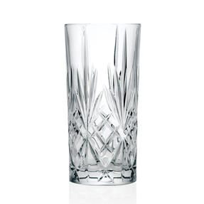 RCR 25766020006 Crystal Melodia High Ball Glasses Tumblers Thumbnail 5
